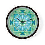 Mercury Yantra Wall Clock