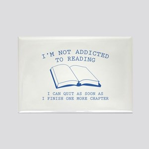 I'm Not Addicted To Reading Rectangle Magnet