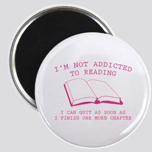 I'm Not Addicted To Reading Magnet