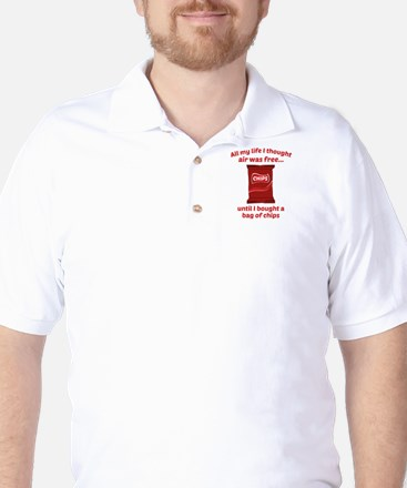 All My Life I Thought Air Was Free Golf Shirt