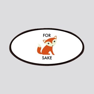 For Fox Sake Patches