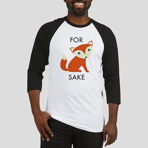 For Fox Sake Baseball Jersey