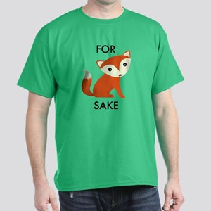 For Fox Sake Dark T-Shirt