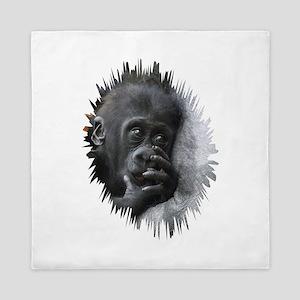 Gorilla 001 Queen Duvet
