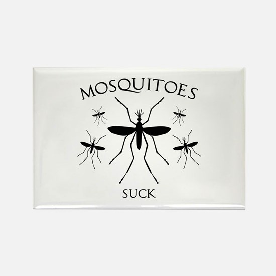 Mosquitoes Suck Rectangle Magnet