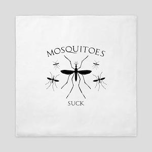 Mosquitoes Suck Queen Duvet