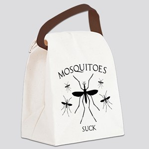 Mosquitoes Suck Canvas Lunch Bag