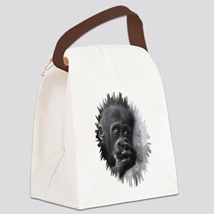 Gorilla 001 Canvas Lunch Bag