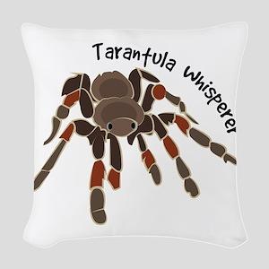 Tarantula Whisperer Woven Throw Pillow