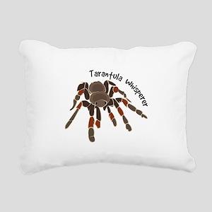 Tarantula Whisperer Rectangular Canvas Pillow