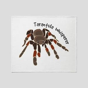 Tarantula Whisperer Throw Blanket
