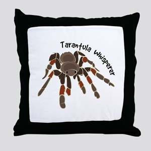 Tarantula Whisperer Throw Pillow