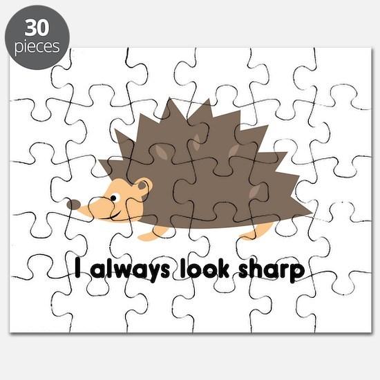 I Always Look Sharp Puzzle