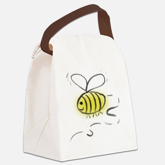 Bee Zoom Canvas Lunch Bag