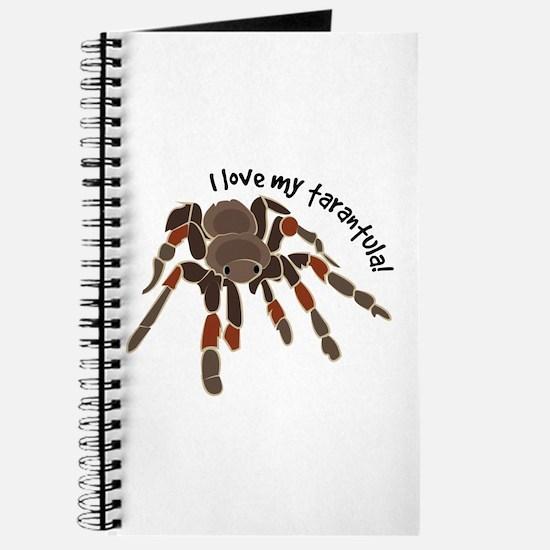 Love My Tarantula Journal