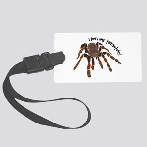 Love My Tarantula Luggage Tag