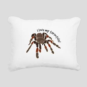 Love My Tarantula Rectangular Canvas Pillow