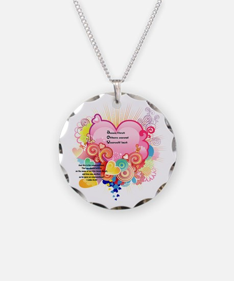 Joy - 1 John 3 23 Necklace