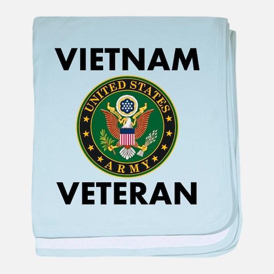 Vietnam Veteran baby blanket