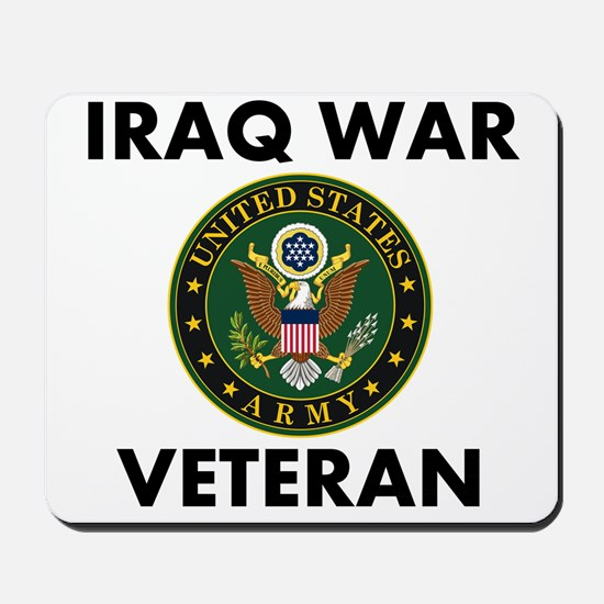 Iraq War Veteran Mousepad