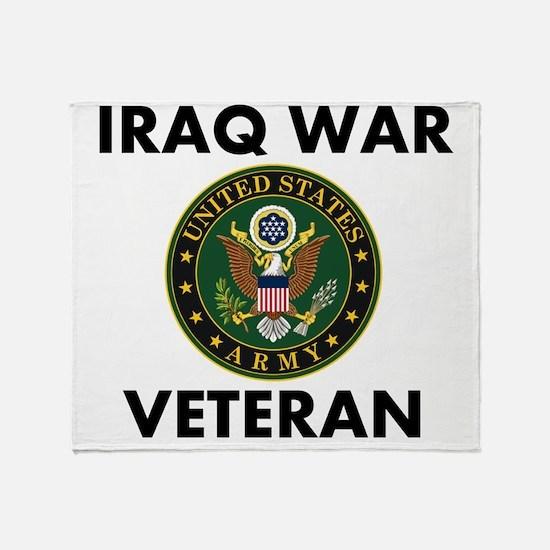 Iraq War Veteran Throw Blanket