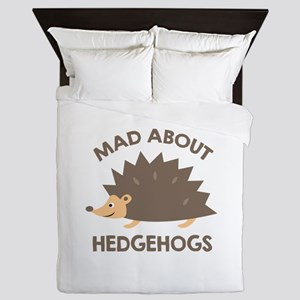 Mad About Hedgehogs Queen Duvet