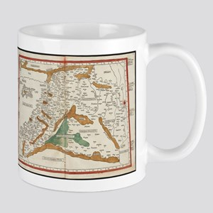 Vintage Map of Mesopotamia (1482) Mugs