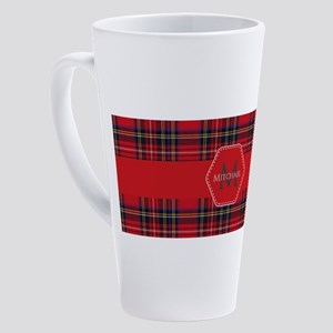 Royal Stewart Tartan Pattern 17 oz Latte Mug