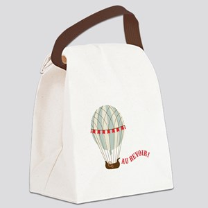 Au Revoir! Canvas Lunch Bag