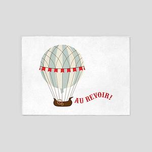 Au Revoir! 5'x7'Area Rug