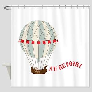 Au Revoir! Shower Curtain