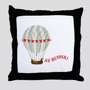 Au Revoir! Throw Pillow