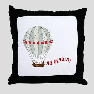 Au Revoir! Throw Pillow