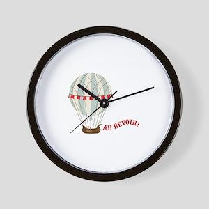 Au Revoir! Wall Clock