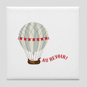 Au Revoir! Tile Coaster