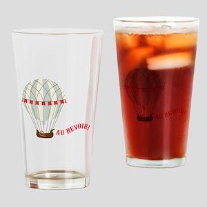 Au Revoir! Drinking Glass