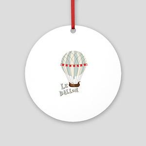 Le Ballom Ornament (Round)