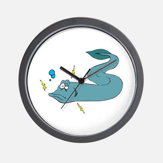 Silly Electric Eel Wall Clock