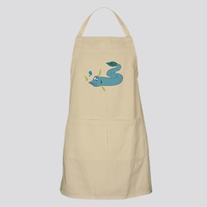 Silly Electric Eel BBQ Apron