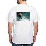 Custom White T-Shirt Winston Churchill