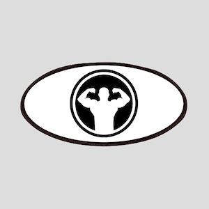 Bodybuilding logo Patches