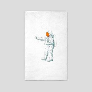 Astronaut Space Suit 3'x5' Area Rug