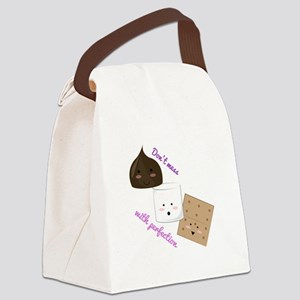 Don't Mess With Perfection Canvas Lunch Bag
