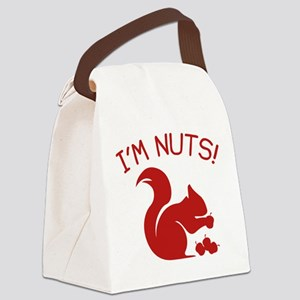I'm Nuts Canvas Lunch Bag