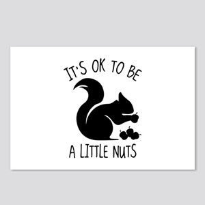 It's OK To Be A Little Nuts Postcards (Package of