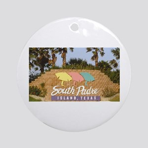 south padre island Ornament (Round)
