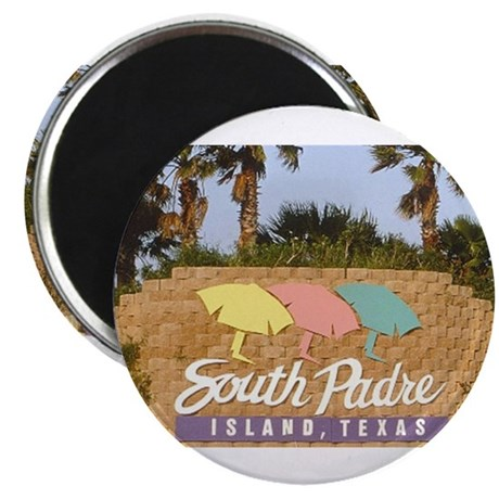 """south padre island 2.25"""" Magnet (100 pack)"""