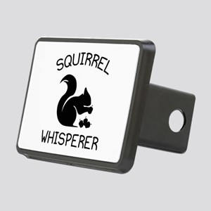 Squirrel Whisperer Rectangular Hitch Cover