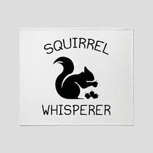 Squirrel Whisperer Stadium Blanket