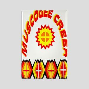 MUSCOGEE CREEK Rectangle Magnet